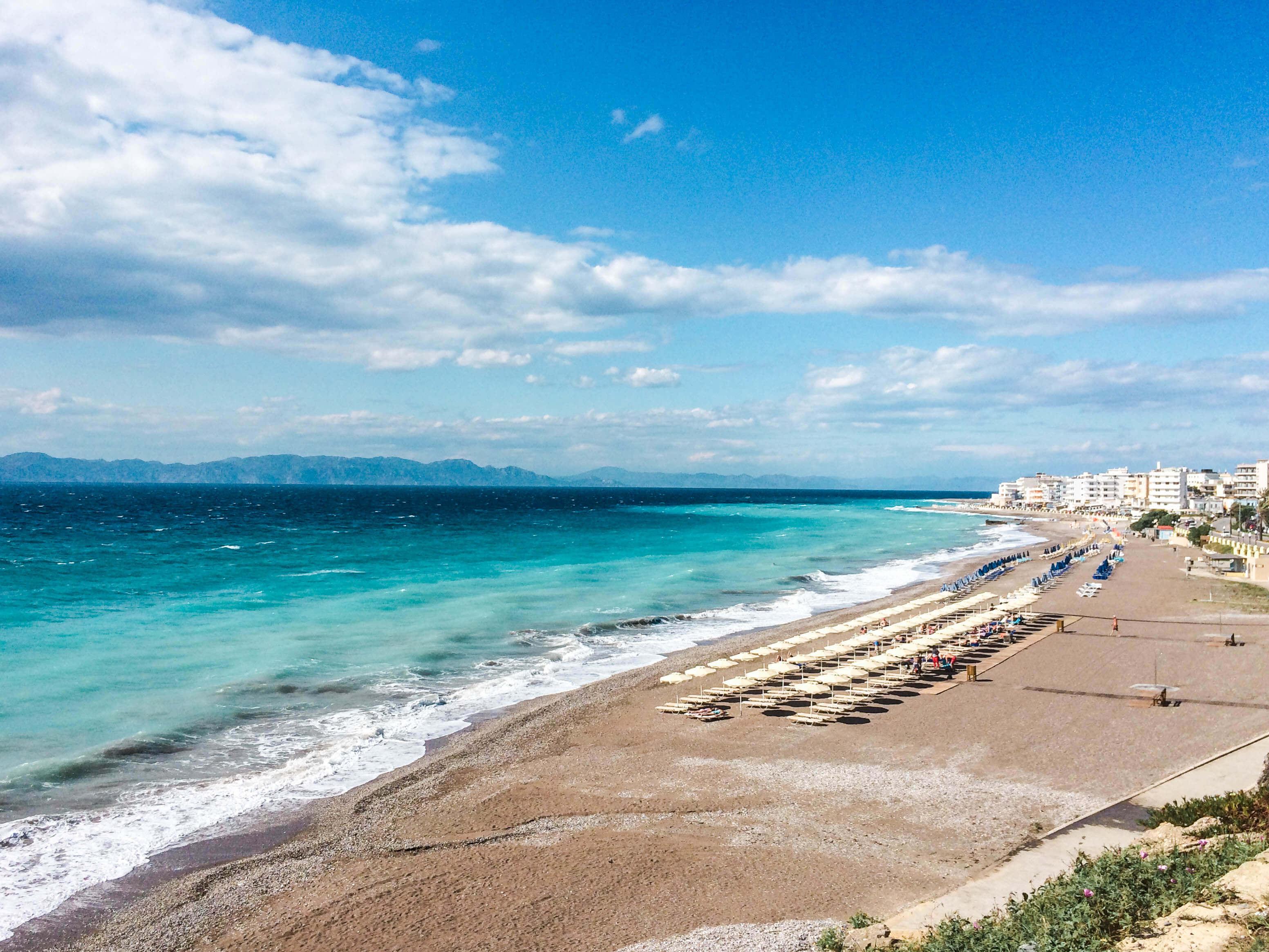 חופשה חלומית באי רודוס, יוון, שעה מכאן