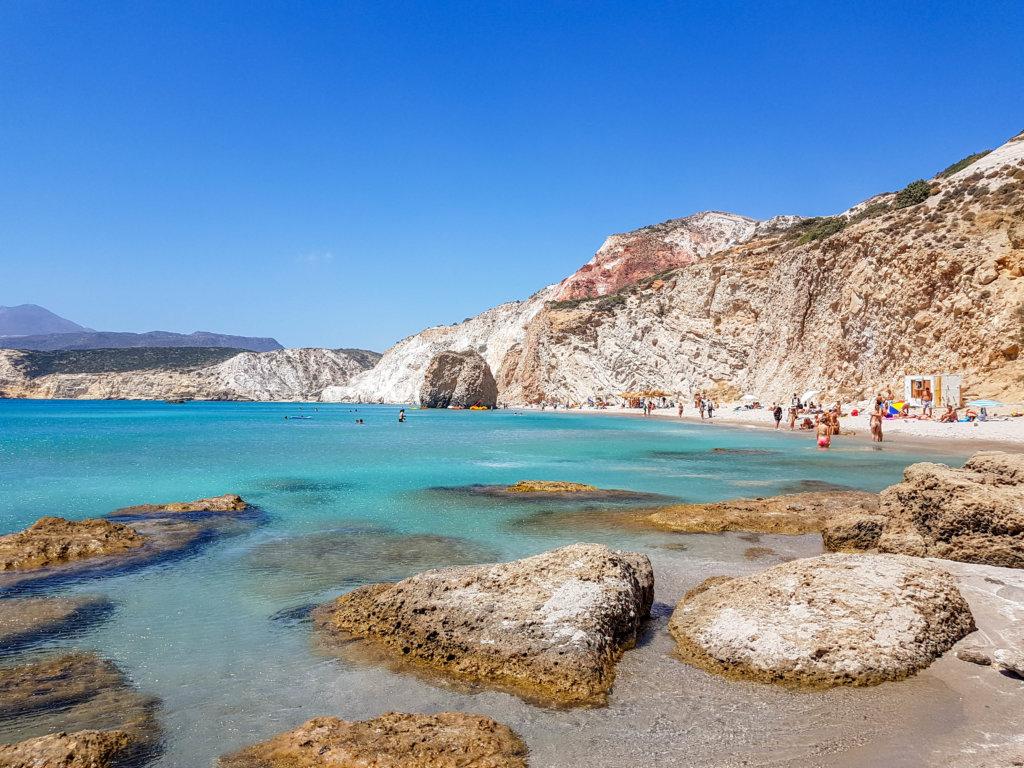 חוף פאראפראגאס מילוס יוון