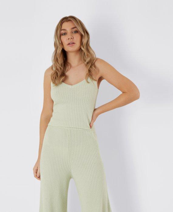 Mint+Knitted+Cami_Mint+Rib+Wide+Leg+Trouser_041